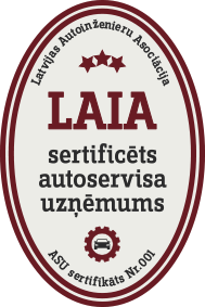 LAIA sertifikāts